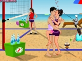 Volleyball Kissing