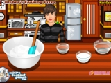 Bieber Cooking Pizza