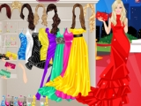 Barbie On The Red Carpet Dress Up