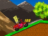 Spongebob squarepants motorcycle race 2