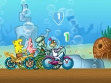 Spongebob squarepants cycling race