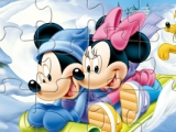 Mickey And Minnie Mouse Puzzle