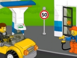 Lego filling station
