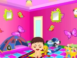 Baby playing room