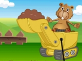 Naughty Beaver In Farm