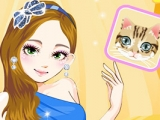 Fashion Cat Eyes Makeover