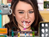 Miley Cyrus At Dentist