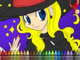 Hallow's eve Coloring Treai