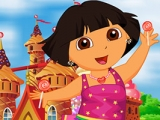Dora Junkent To Candy Land Dress Up