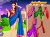 Barbie Indian Saree Dressup