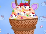 Hello Kitty Ice Cream Decor