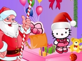 Santa's hello Kitty Room Cleaning