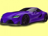 Grand Speedy Car Coloring