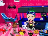 Monster High Baby Room Cleaning