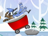 Regular Show Snow Race