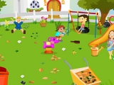 Childrens Garden Cleaning