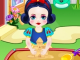 Baby Snow White Caring