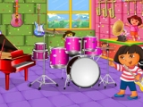 Dora's Music Room Decoration