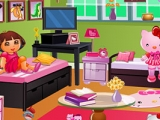 Dora's Hello Kitty Room Decor