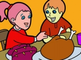 2014 Thanksgiving Day Coloring