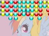 Rainbow Dash and Spirtifire Bubble