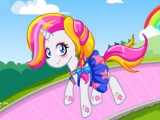 My Little Pony Rarity Rainbow Power Style