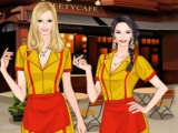 TV Fashion Two Broke Girls