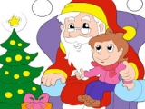 Merry Christmas Online Coloring