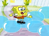 Spongebob Squarepants in Bubble Land