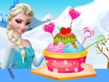 Elsa Ice Cream Decoration